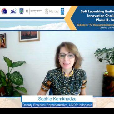 Sophia Kemkhadze UNDP Indonesia Soft Launching EPPIC Phase II