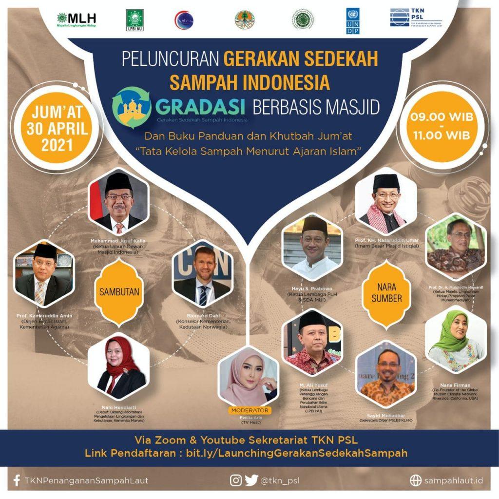 Konferensi Pers GRADASI (Gerakan Sedekah Sampah Indoenesia) Berbasis Masjid (3)